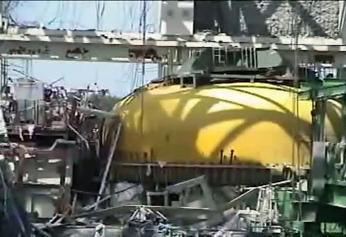 日本公布一组福岛核电站内部照片
