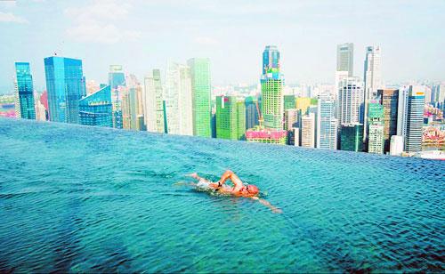 滨海湾金沙酒店:俯瞰全新加坡美景