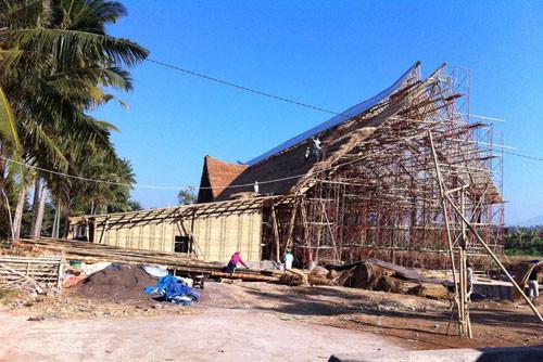 最大的竹制建筑