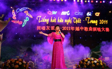 东方歌舞团著名歌手吴静深情演唱《西游记》插曲《女儿情》-2011中