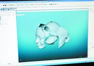 最潮新婚纪念 3D打印新娘娇容