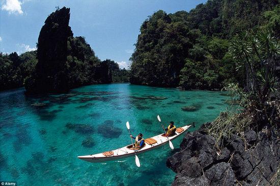 世界上最漂亮的岛屿 菲律宾巴拉望岛