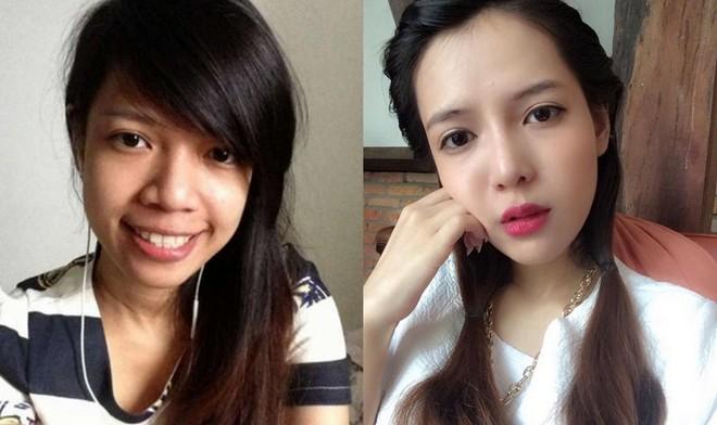 越南90后女孩因被人嘲笑 整容成混血美女