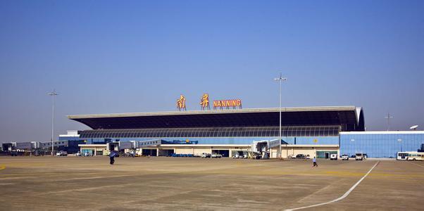 位于南宁市西南32公里的吴圩机场