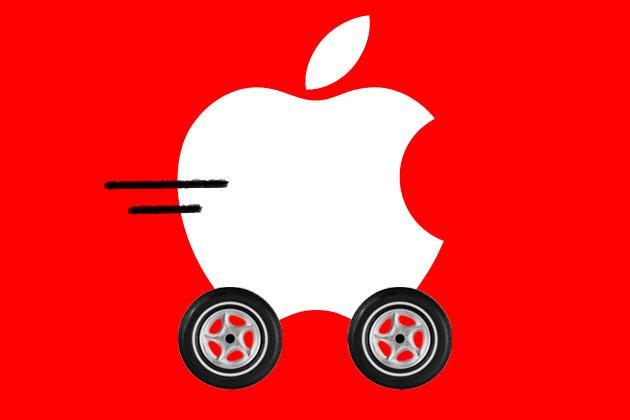 苹果汽车再爆猛料 开发的是无人驾驶汽车高清图片
