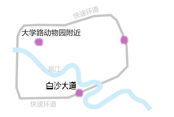广西大学手绘地图