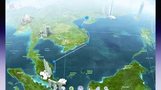 一价全包,三个国家,四个海岛——岘港,芽庄,热浪岛,关丹.