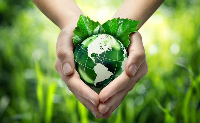共同清洁我们可爱的地球
