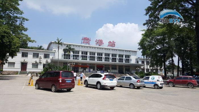 贵港两火车站合二为一客运业务办理全部移至高铁站图片