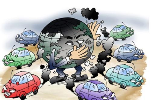 氮氧化物多产生于煤炭燃烧和汽车尾气,随着车辆的增多,空气中氮氧化物