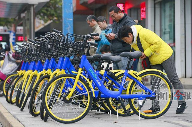 共享单车现龙城方便还是不方便?有人认同有人