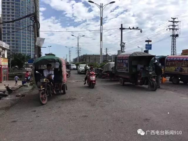 钦州港区逐步恢复人气,市场照开,彩票照买,海鲜照吃