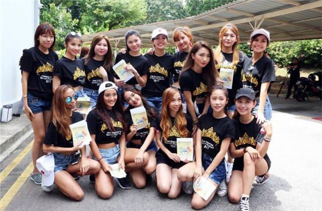 被网民吐槽颜值太伤心灵 新加坡美姐集体接受辅导