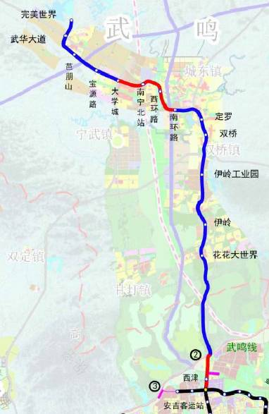 南宁地铁或将开通机场线连接火车东站和机场