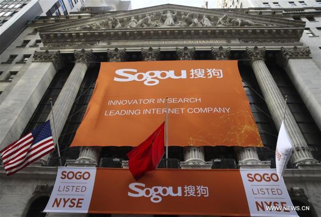 With Eye On Ai Sougou Debuts On New York Stock