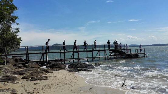 泰国象岛(西北20海里)相邻望,处中国倡导沿线,经济地理位置十分优越