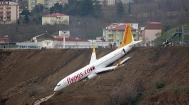 土耳其一架客机降落时滑出跑道险些坠海