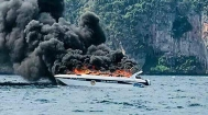 一艘快艇在泰国皮皮岛海域爆炸致多名中国游客受伤